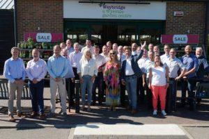 Weybridge Garden Centre Staff